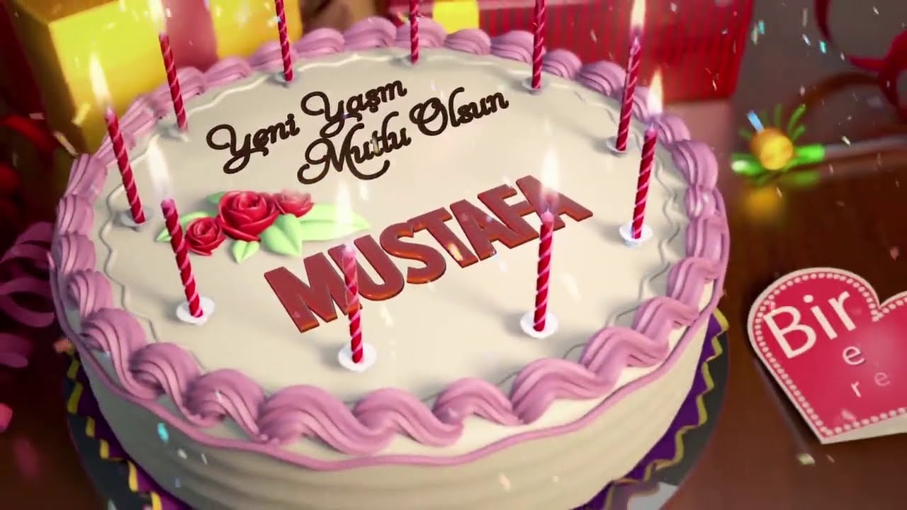 İyi ki doğdun MUSTAFA - İsme Özel Doğum Günü Şarkısı