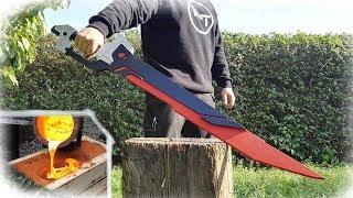GIANT Aluminum Casting - Argus Sword Catastrophe (Mobile Legends)