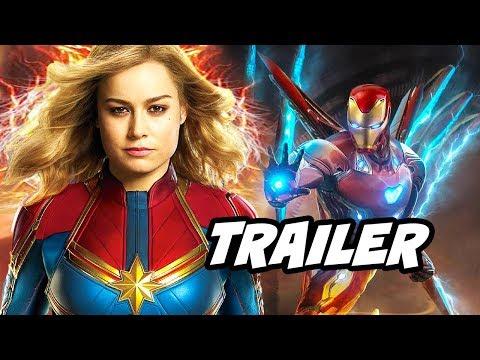 Captain Marvel Teaser - Iron Man Scene Easter Egg Breakdown