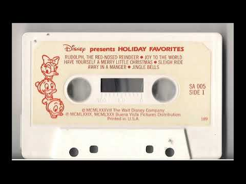 Disney Presents Holiday Favorites / Christmas Cassette Tape