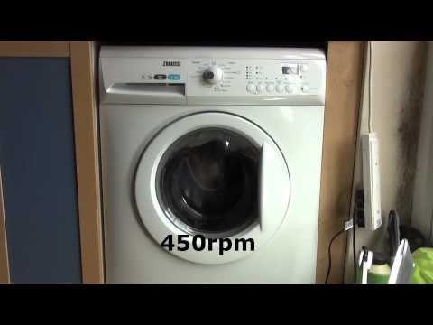 Zanussi Aquafall ZWHB7160 Washing Machine : Spin only 700rpm