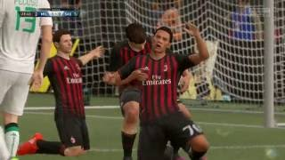 Video Gol Pertandingan AC Milan vs Sassuolo