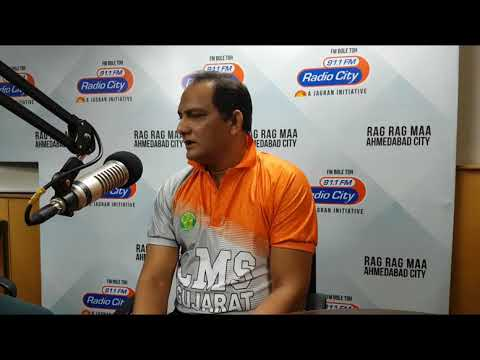 Mohammad Azharuddin's memories with Ahmedabad & Cricket