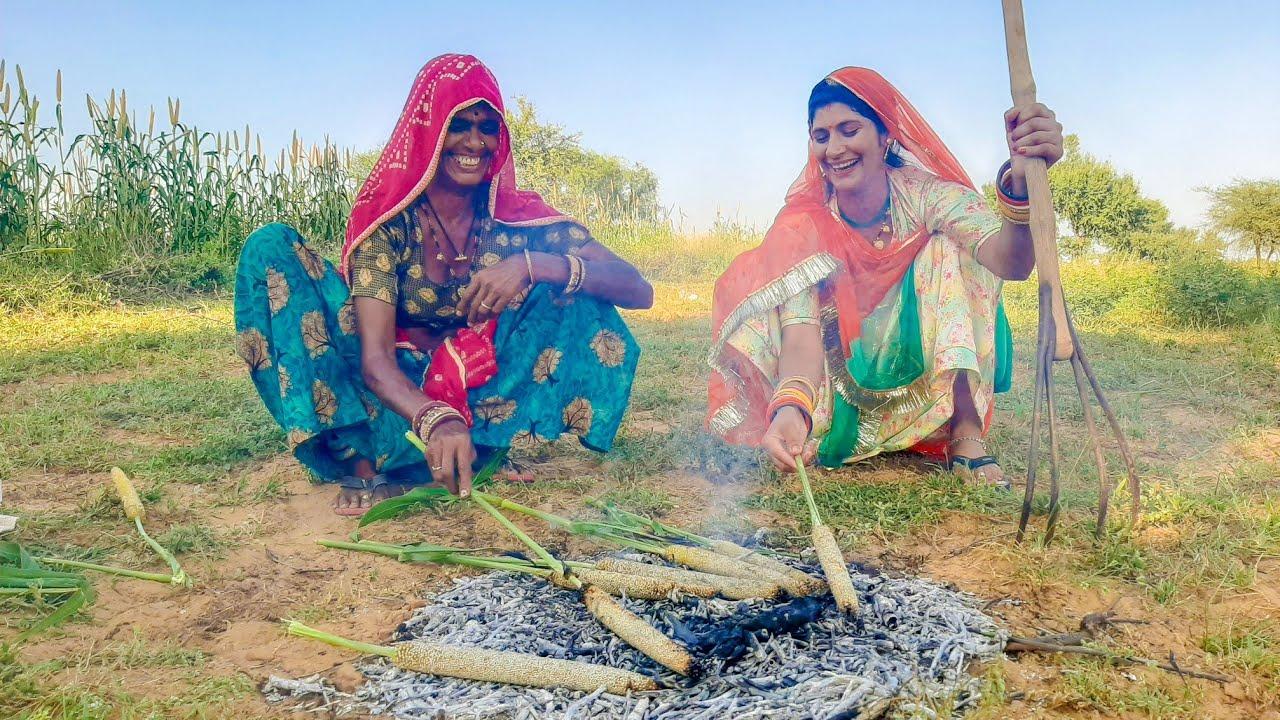 Indian Thar Desert Lifestyle ❤️  Beautiful Culture Maru Pradesh in Rajasthan