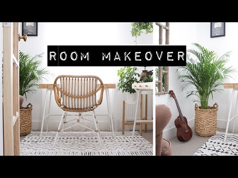 ROOM MAKEOVER // My Tiny Studio + Room Tour (2019)