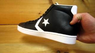 Converse Pro Leather Mid Black