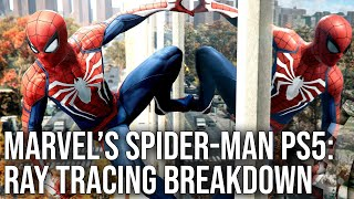 Marvel's Spider-Man PS5 Ray Tracing Analysis - The Challenge of RT in First-Gen Games