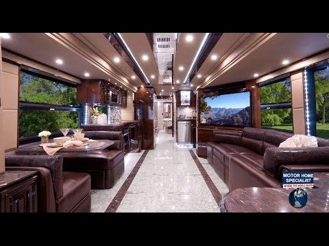 "2.2 Million Outlaw Luxury Prevost RV at MHSRV.com ""The Residency"""