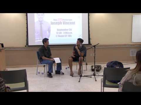 Joseph Vincent: Performing in Asia
