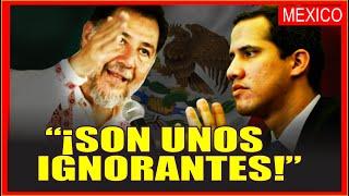 MÉXICO: DIPUTADO DEL PT HUMILLA A LA DERECHA DE SU PAÍS POR RECONOCER A JUAN GUAIDÓ