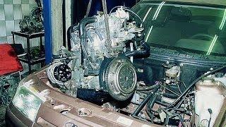 ВАЗ. Снимаем Двигатель. ВАЗ 2110, ВАЗ 2111, ВАЗ 2112