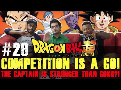 Dragon Ball Super ENGLISH DUB - Episode 29 - Group Reaction + Discussion +MIKEY UNBOXING
