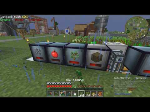 """Minecraft DNS Tech Pack Ep19 """"5x Ore Processing W/Rotarycraft"""""""