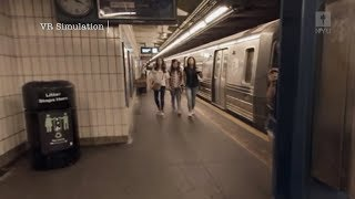 Virtual Reality Training for NYU Social Work Students