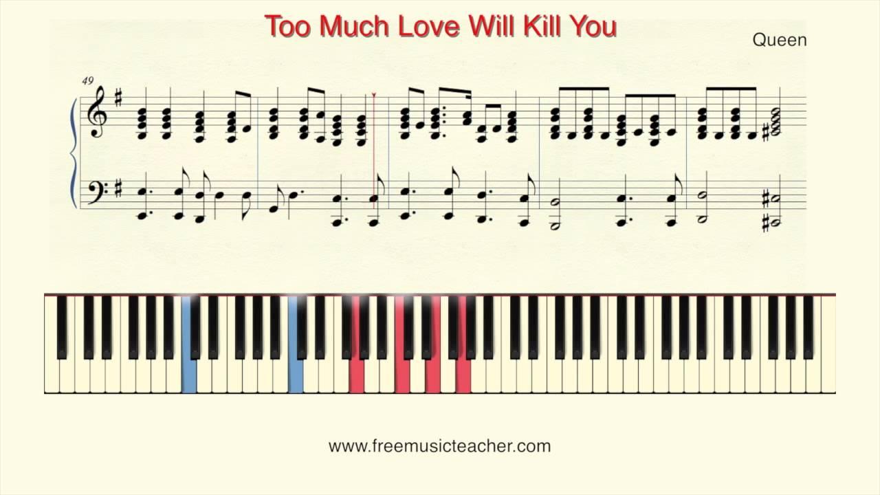 How to play i hate u, i love u easy piano tutorial gnash ft.