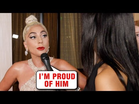 Lady Gaga EMOTIONAL INTERVIEW About Bradley Cooper at 32nd American Cinematheque Award 2018