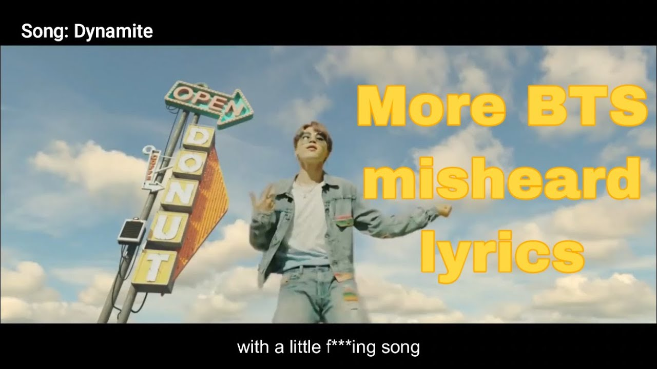 More misheard BTS lyrics [try not to laugh hard]