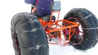 Самодельный вездеход \ homemade ATV \ meanwhile in Russia