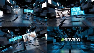 After Effects Template 2018 - Corporate Opener Hi Tech Template By After Effects cc 2018