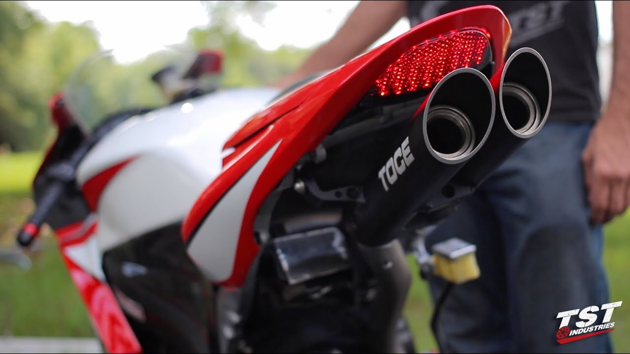 Ultimate Exhaust Sound 2007-2012 CBR600RR : Toce, Honda ...