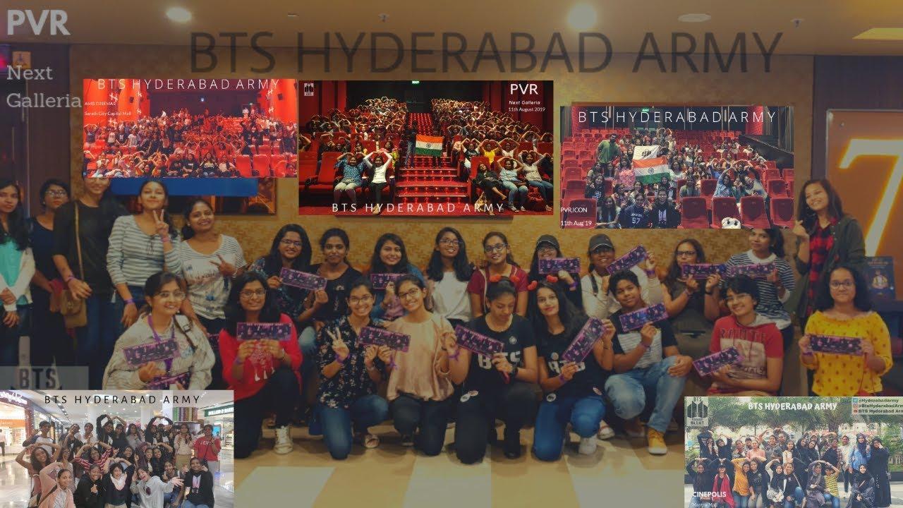 #BTS-BRING THE SOUL  in Hyderabad.  #BTSARMY
