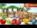 Download Video KN Channel BÚP BÊ ĐI SIÊU THỊ MUA TRÁI CÂY BẰNG KẸO DẺO Đồ chơi nhật bản Popin Cookin CỦA BÉ NA