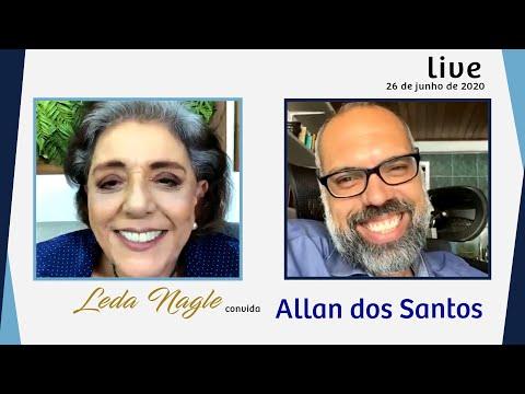 ALLAN DOS SANTOS : COM A PALAVRA O JORNALISMO CONSERVADOR LEDA NAGLE