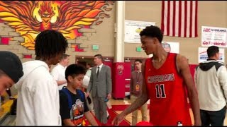 Shareef O'Neal Goes To WORK In The DESERT! Gives Away His SHOES After The Game