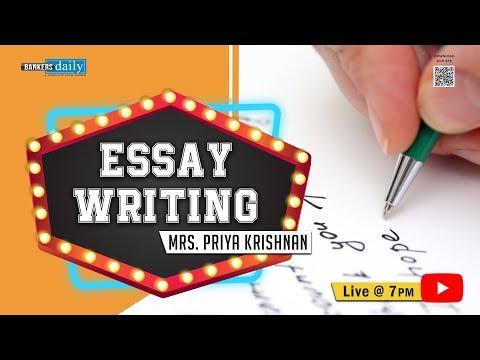 ESSAY WRITING - DESCRIPTIVE WRITING FOR SYNDICATE BANK PO EXAM 2018