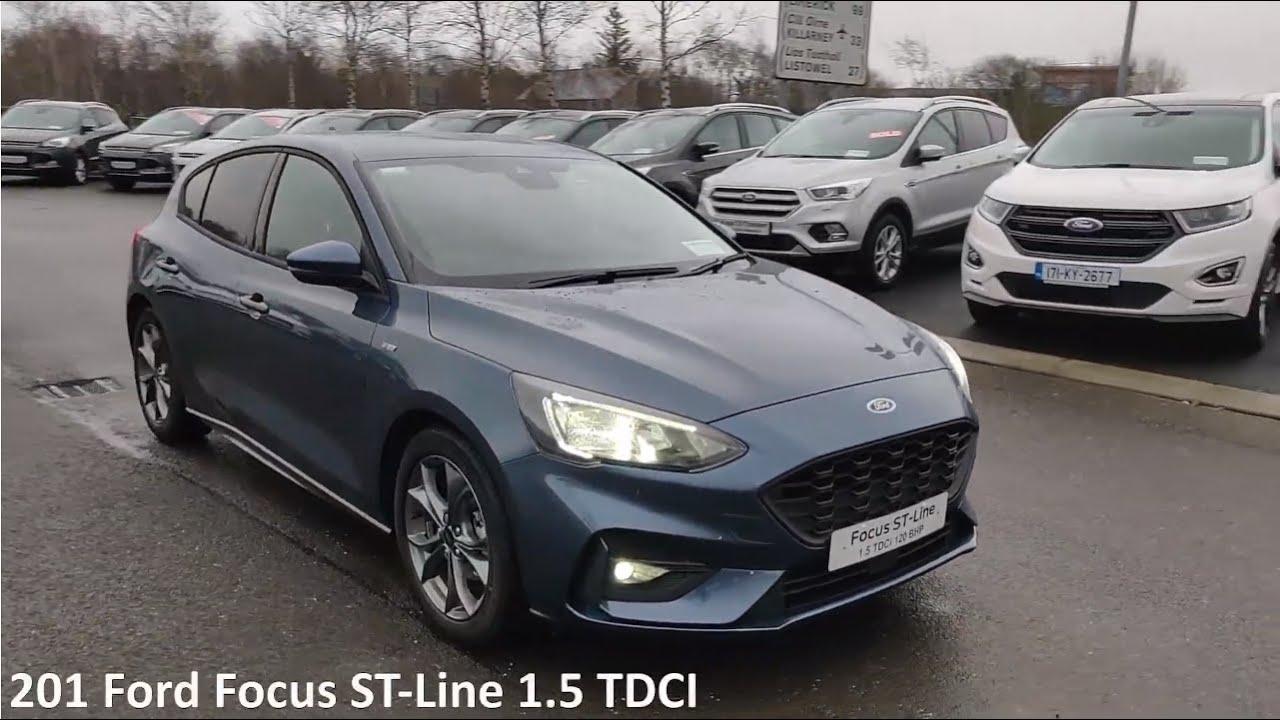 201 Ford Focus St Line 1 5 Tdci Chrome Blue Youtube