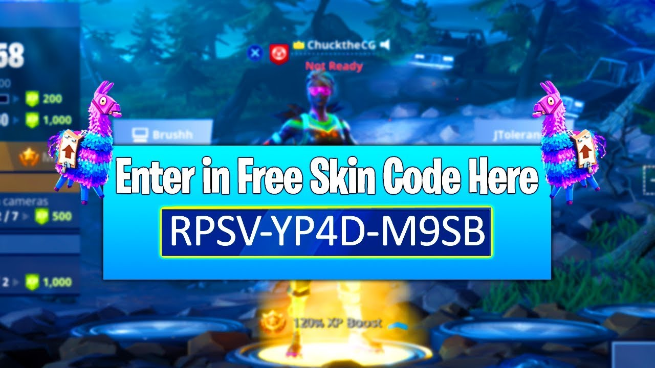 How to Send/Receive FREE Skins in Fortnite: Battle Royale! How to Gift Free  Skins in Fortnite