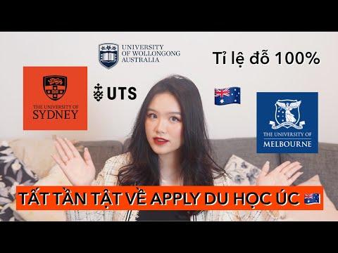 Tất tần tật về apply DU HỌC ÚC, bí kíp APP ĐÂU ĐỖ ĐÓ, tỉ lệ đỗ 100%   Dao Unofficial