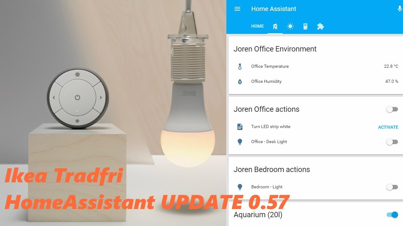 Ikea Tradfri Ikea Tradfri In Updated Homeassistant 57