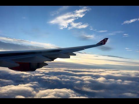 Virgin Atlantic   Airbus A340-600   EWR-LHR   Economy