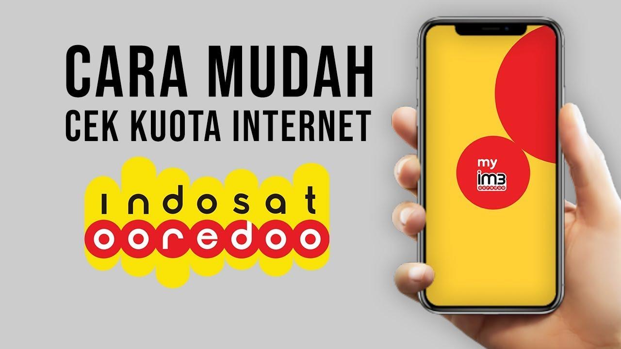 Cara Mudah Cek Kuota Indosat Ooredoo Youtube