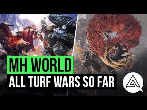 Monster Hunter World   New Turf Wars & All Turf Wars So Far