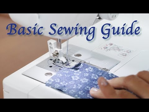12 Easy Basic Sewing Guide and How to start Sewing - Sewing Lesson for Beginner #2