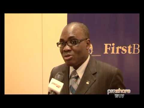 Disengaging First Registrars from First Bank - MD, Bayo Olugbemi - 300512