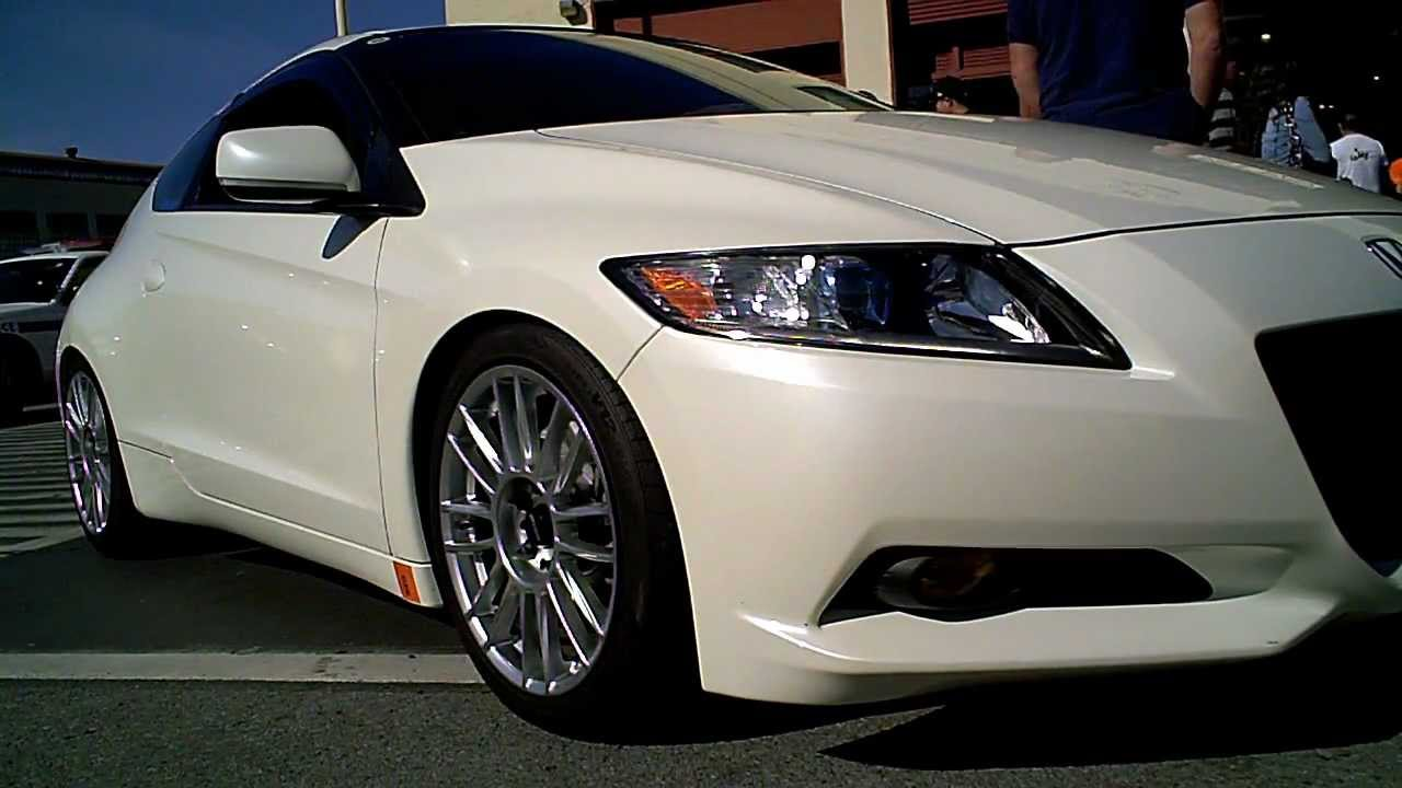 2011 Honda Cr Z On Spoon Cr93 S With Basis Sport Tuning