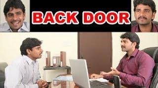 BACK DOOR ||  Key in the cash || Telugu Comedy Short Film By A.V.BHASKAR