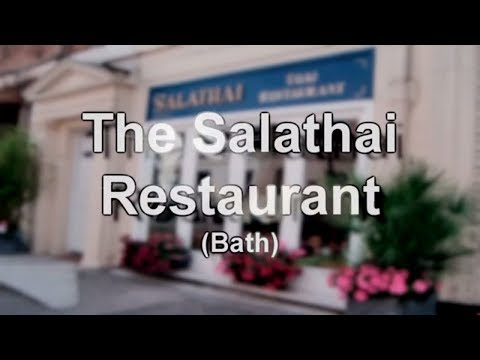 Gastronomically Good Gaffs: Salathai Restaurant, Bath