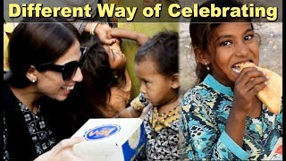 Different way of celebrating - 2nd Anniversary With Needy Children
