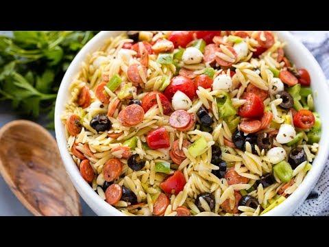How to Make Italian Orzo Pasta Salad