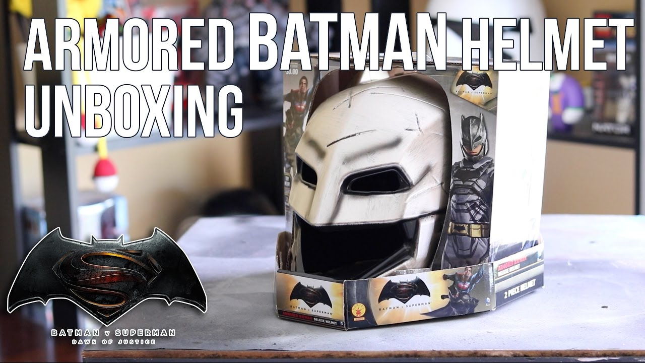 Armored Batman Helmet Unboxing Review Rubies Batman