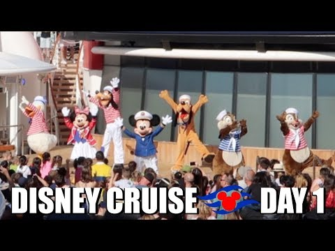 DISNEY WONDER CRUISE 2018 | DAY 1 | ADVENTURES AWAY - May 13, 2018