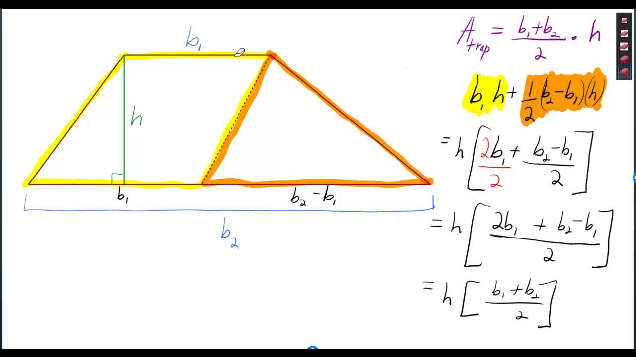 Proof area formulas for rectangle parallelogram triangle and proof area formulas for rectangle parallelogram triangle and trapezoid ccuart Images