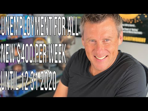 Unemployment For All 6-19-20: Weekly $400 Payments? FPCU PUA Unemployment Benefits $600 Ends July 31