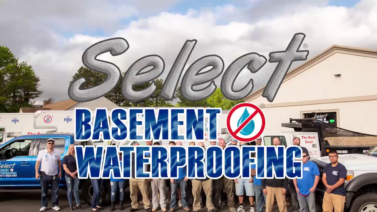 Select Basement Waterproofing Products And Services