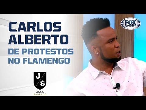 'O DIEGO NUNCA FOI DESTEMPERADO DAQUELA FORMA': Carlos Alberto de protestos no Flamengo