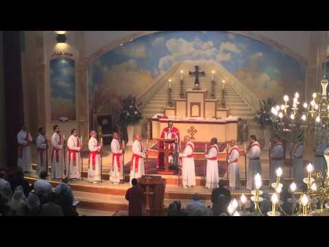 """Ewakh Mhomne"" Assyrian Prayer, Easter Sunday . Assyrian Church Of The East Los Angeles."